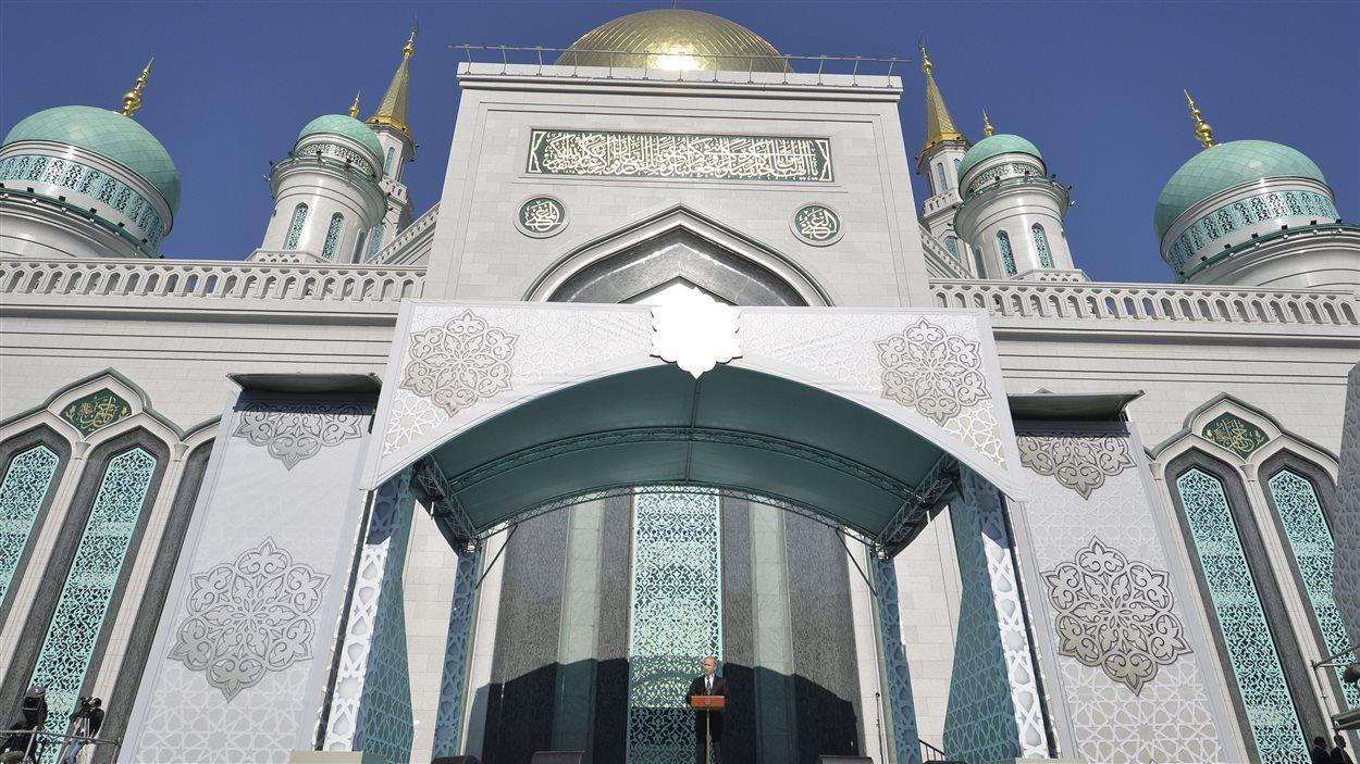Discours de Vladimir Poutine lors de l'inauguration de la Grande Mosquée à Moscou.