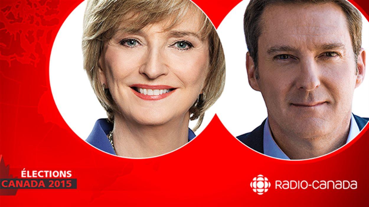 Le débat des chefs à Radio-Canada