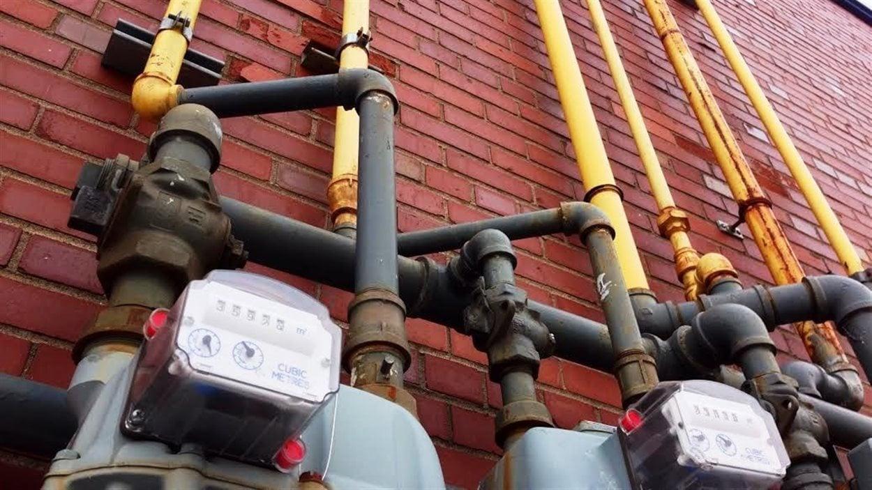 Compteurs de gaz naturel