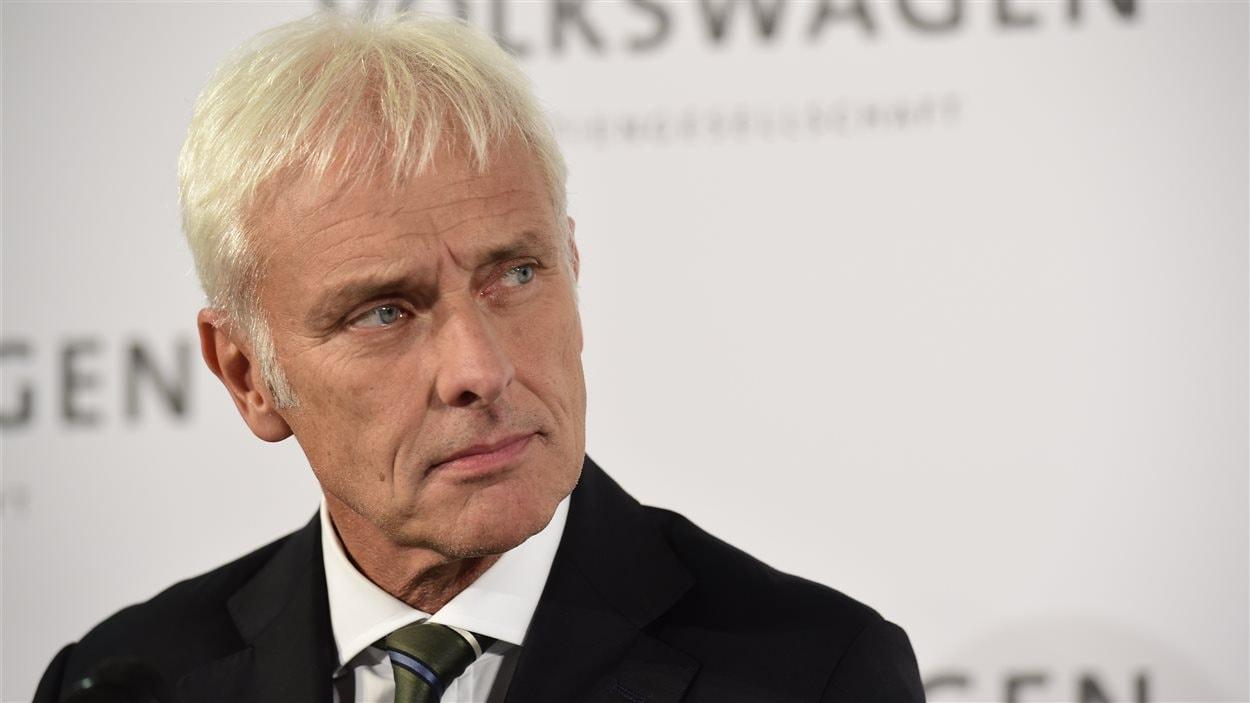 Le nouveau président du directoire de Volkswagen, Matthias Müller