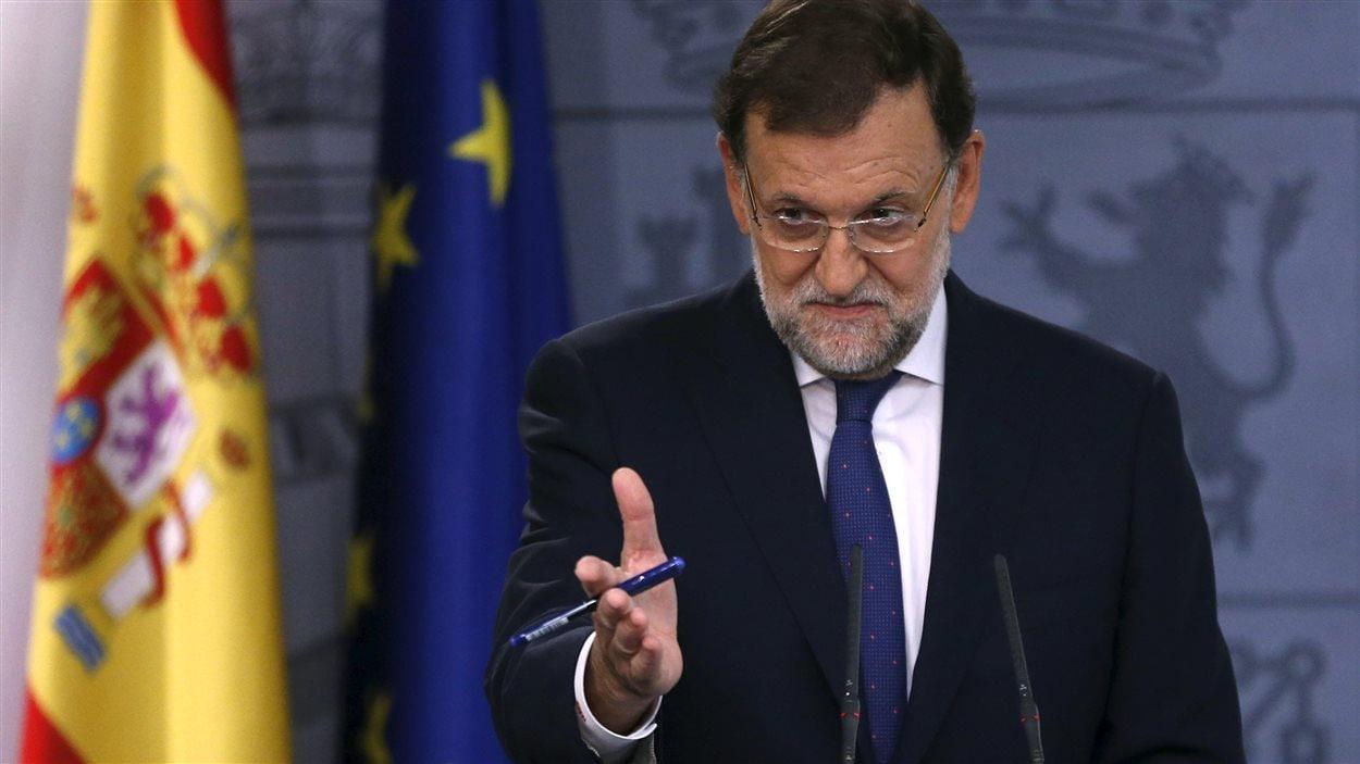 Le chef du gouvernement espagnol, Mariano Rajoy.