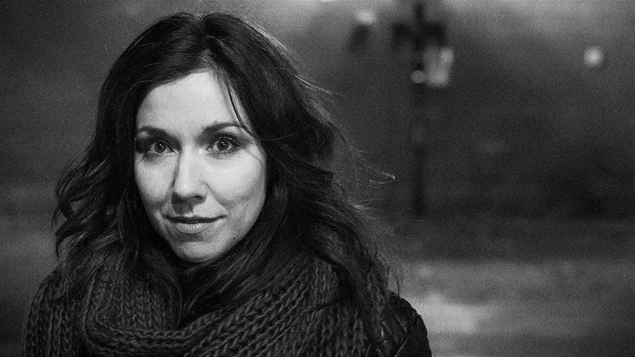 L'auteure Sophie Bienvenu