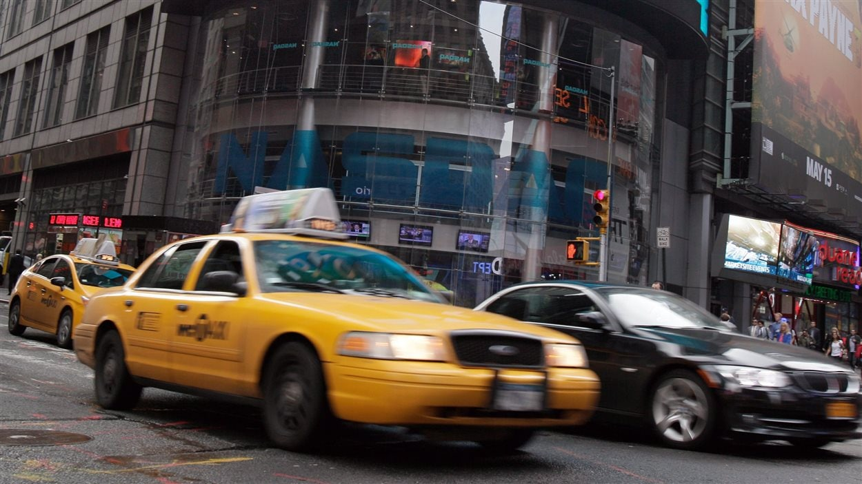 Des taxis jaunes à New York