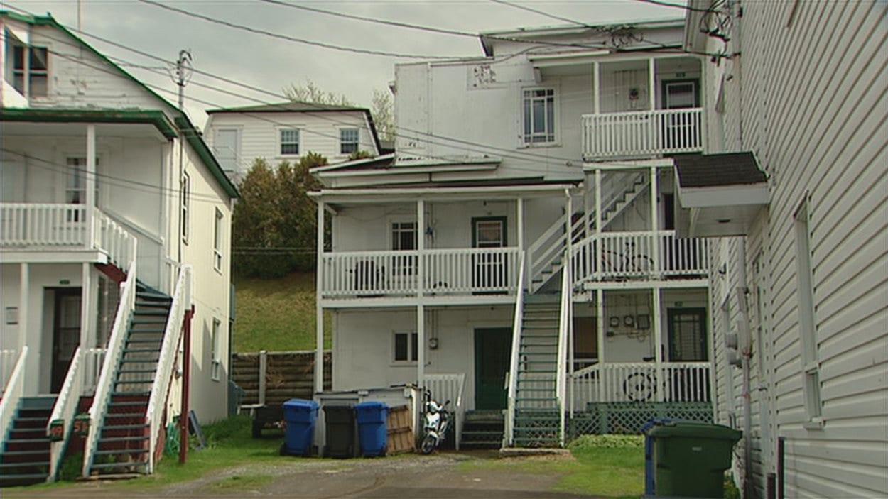 Des logements sociaux, à Rimouski