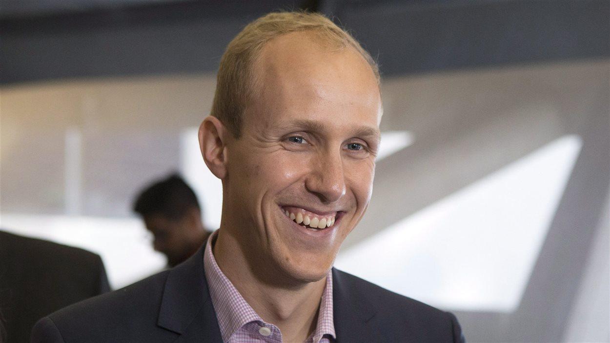 Le directeur général d'Uber Toronto, Ian Black