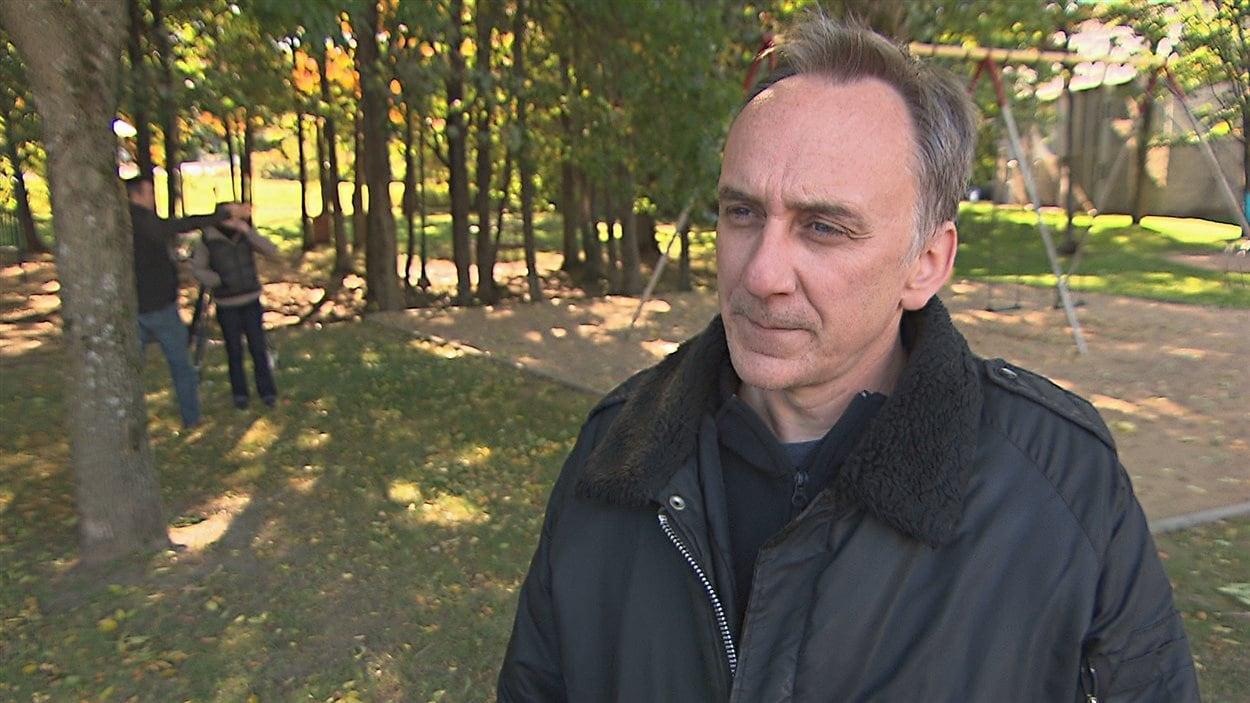 Le réalisateur du documentaire, Stéphan Parent.
