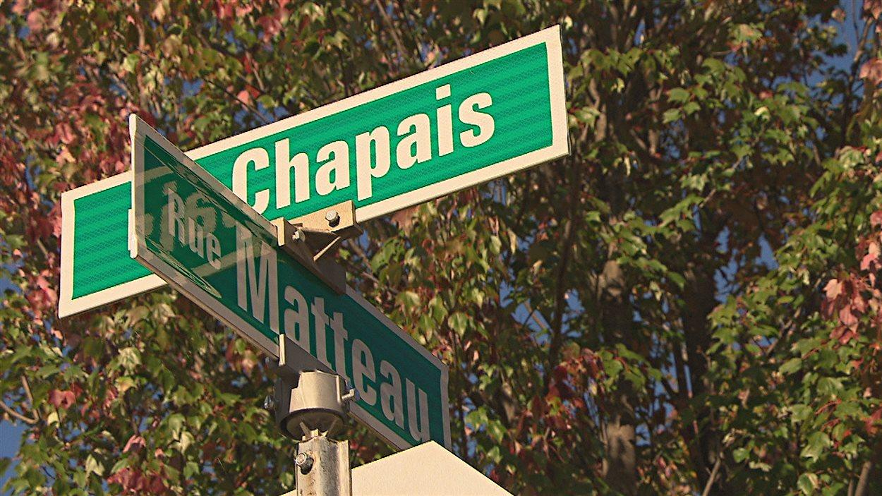 Le tournage avait lieu à l'angle des rues où Cédrika a été aperçue.