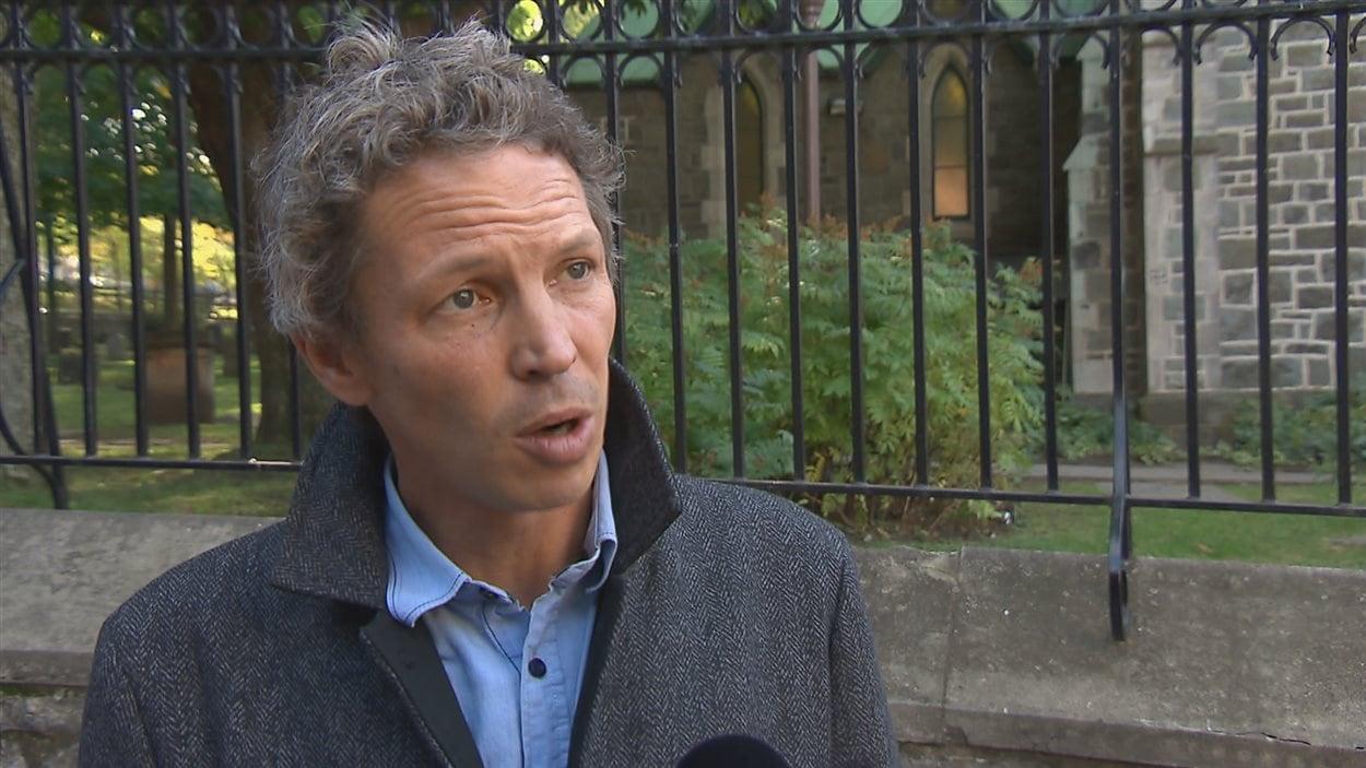 Charles Mordret, candidat bloquiste dans Québec