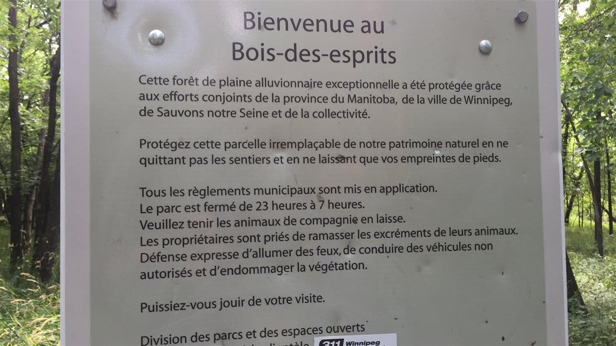 Bienvenue au Bois-des-esprits