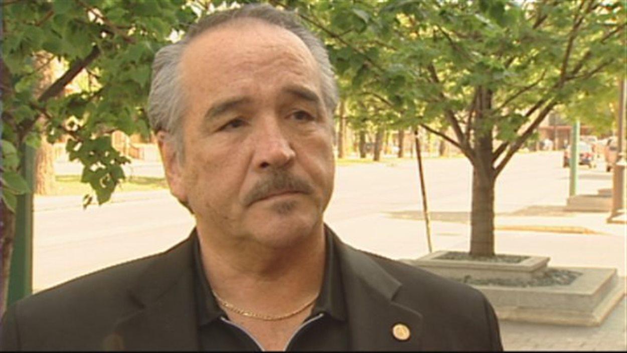 Dwight Dorey, chef national du Congrès des peuples autochtones.
