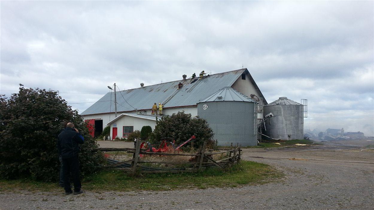 La ferme Aly Blackburn a été détruite par un incendie