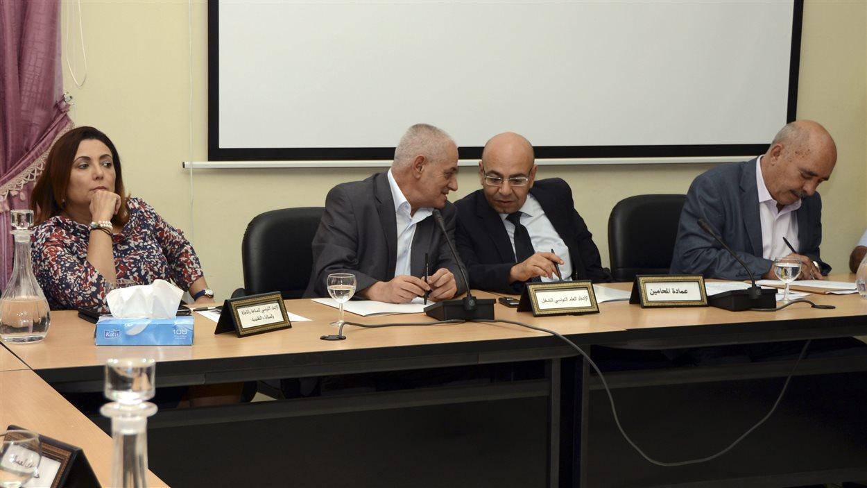 Le quartet du Dialogue national tunisien lauréat du Nobel de la paix 2015