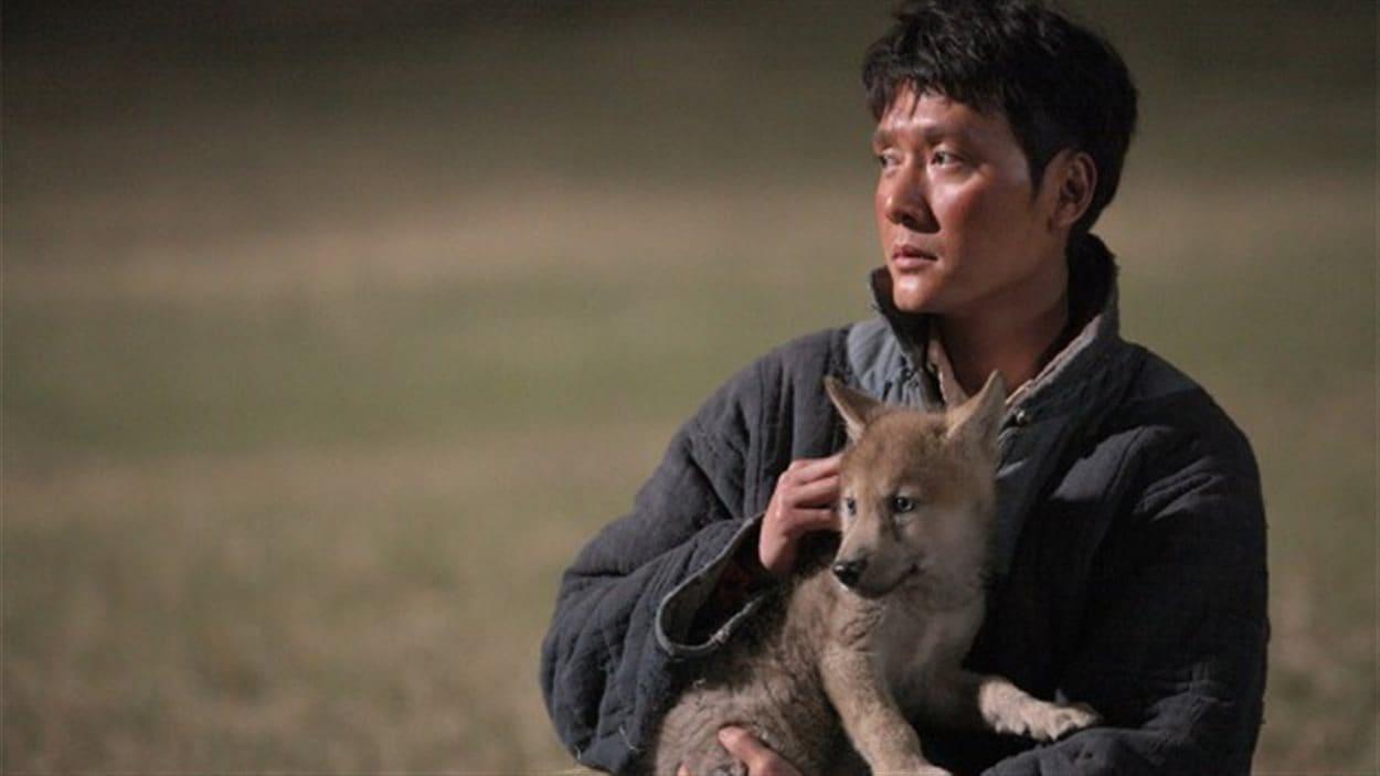 Une scène du film <em>Le dernier loup</em>