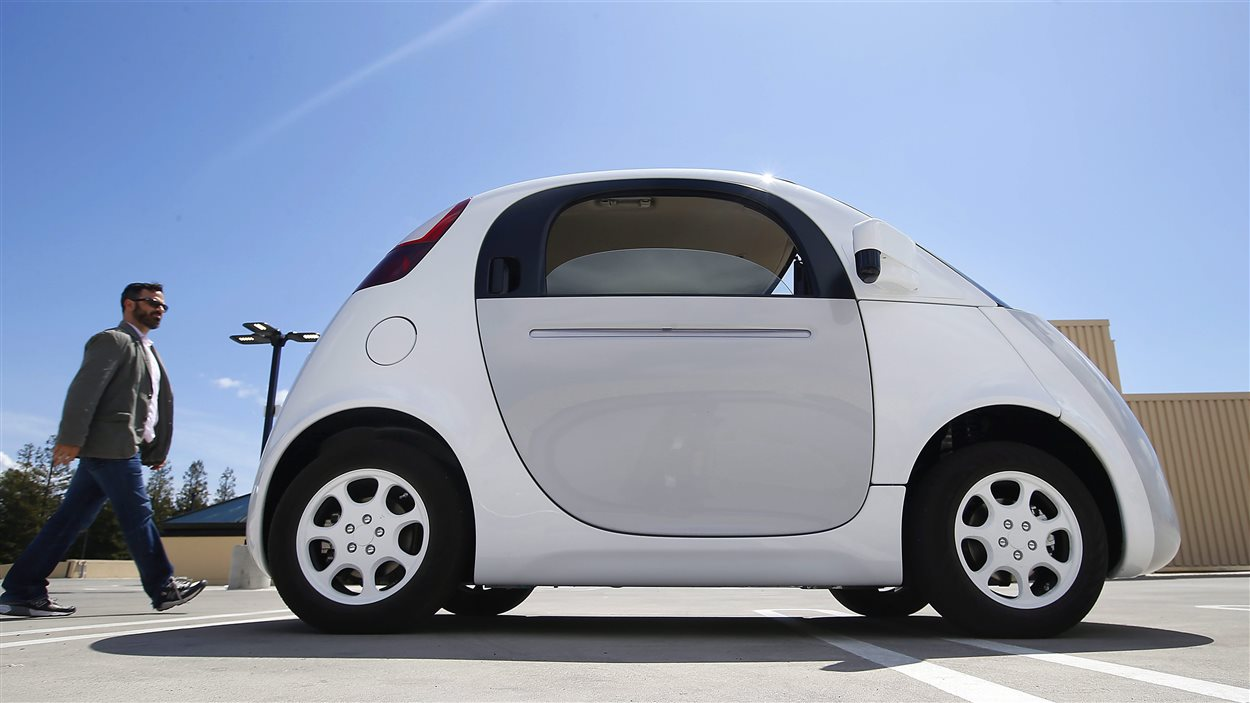 La voiture sans conducteur de Google