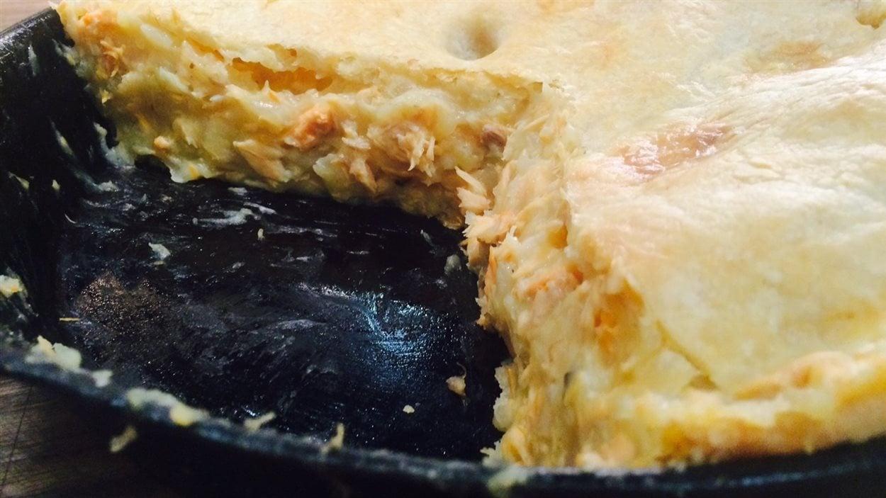 Le pâté au saumon de Mado Martel
