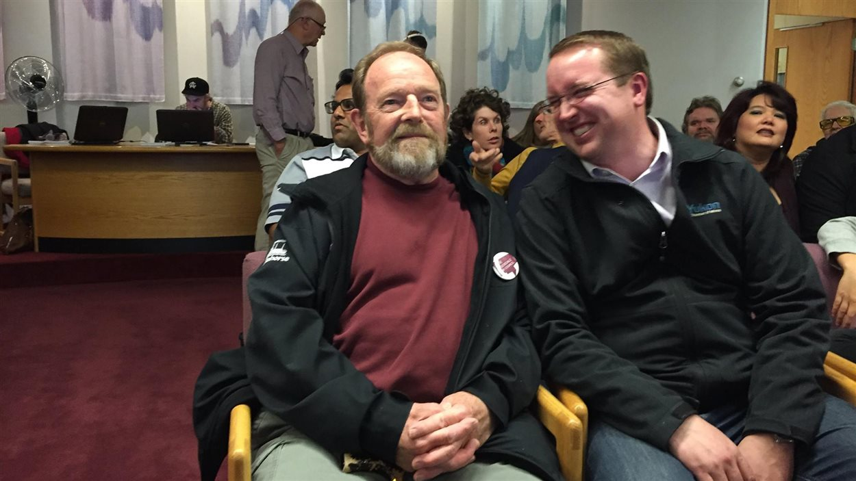 Dave Stockdale et Samson Hartland