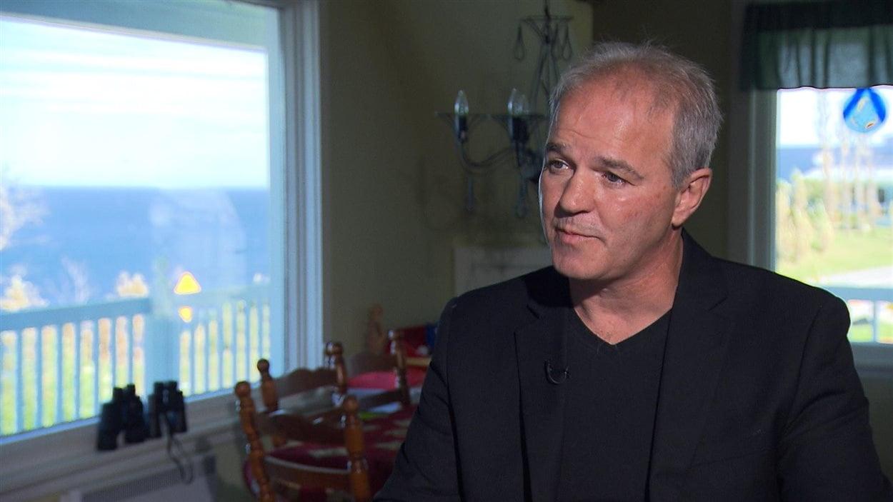 Le maire de La Martre, Yves Sohier
