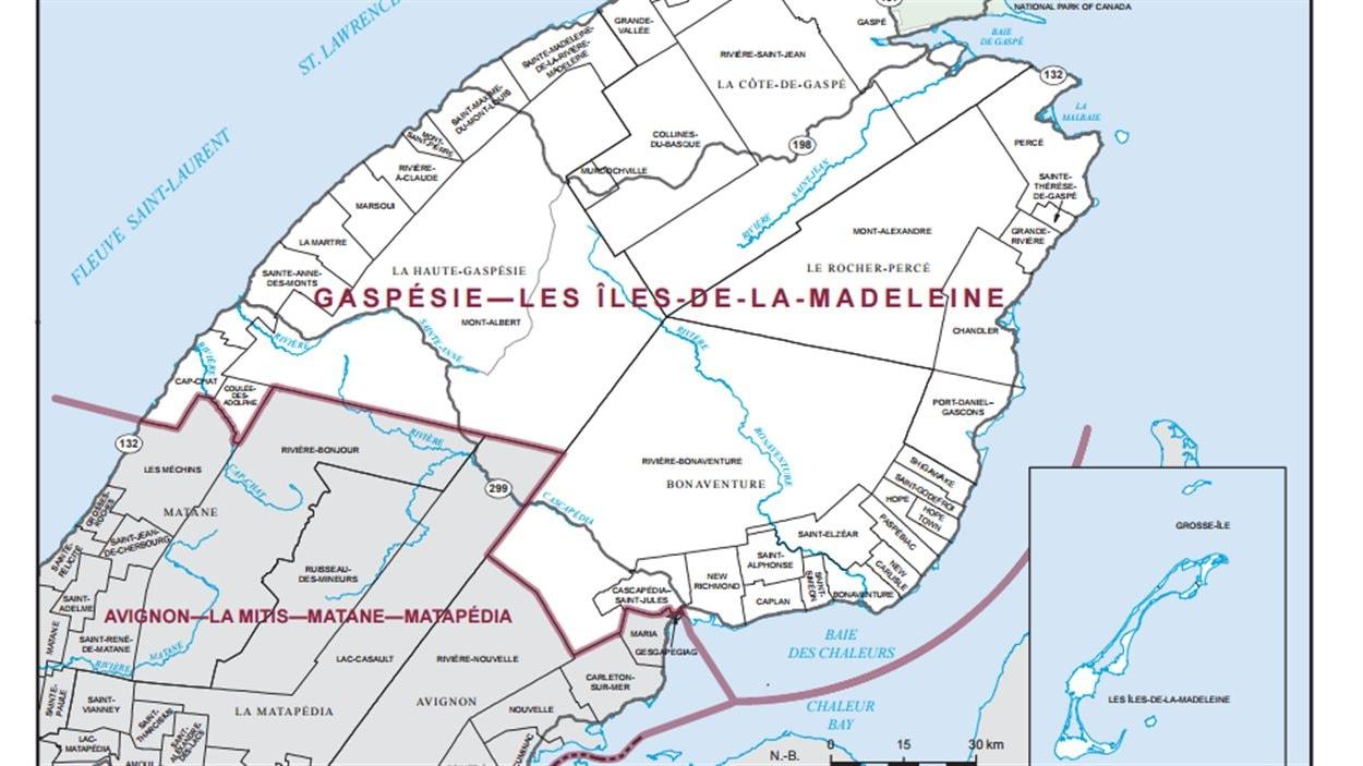 Gaspésie-Les Îles-de-la-Madeleine