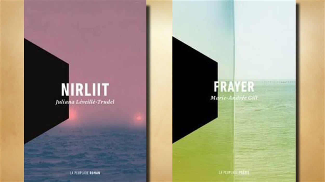 Les livres Nirliit et Frayer publiés par La Peuplade
