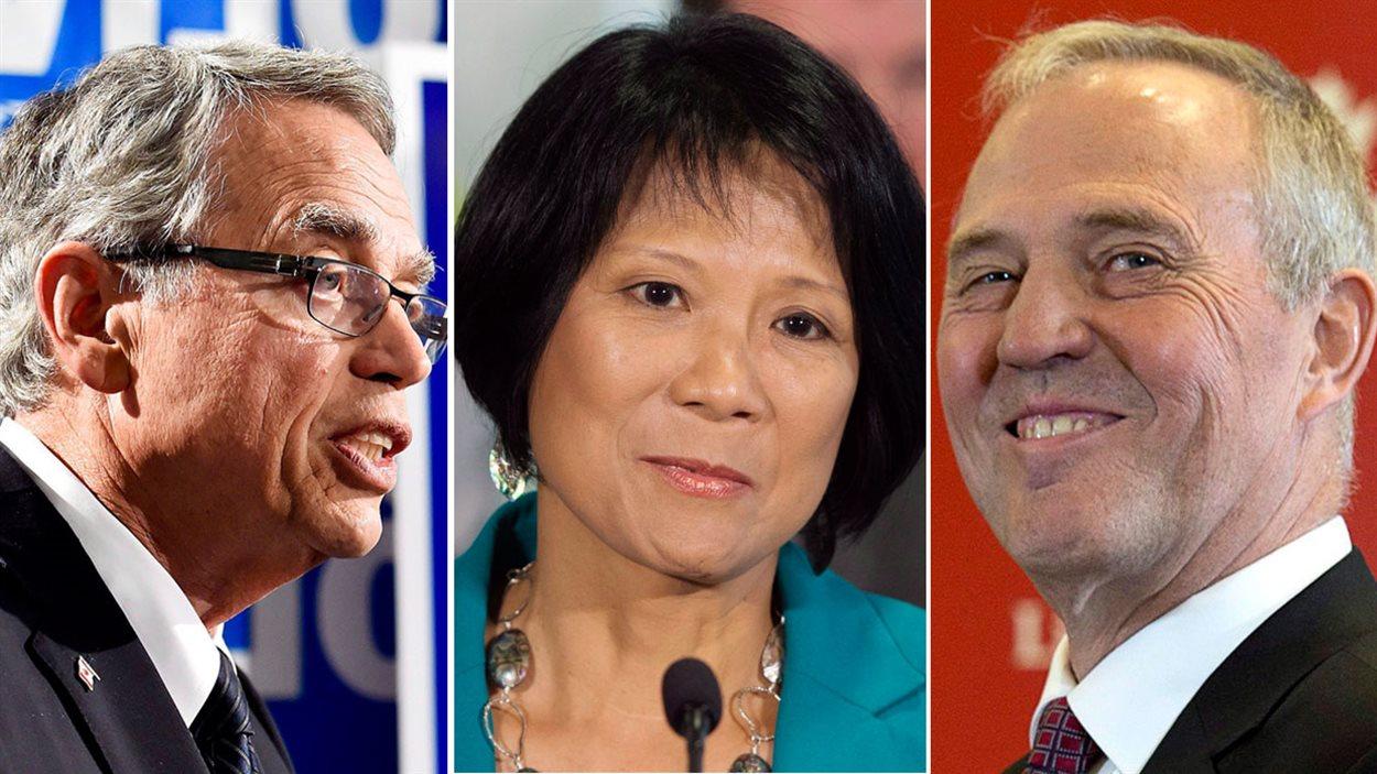 Trois candidats à surveiller dans la région de Toronto: le ministre sortant des Finances, Joe Oliver dans Eglinton-Lawrence, Olivia Chow qui représente le NPD dans Spadina-Fort-York et le candidat libéral Bill Blair dans Scarborough-Sud-Ouest.
