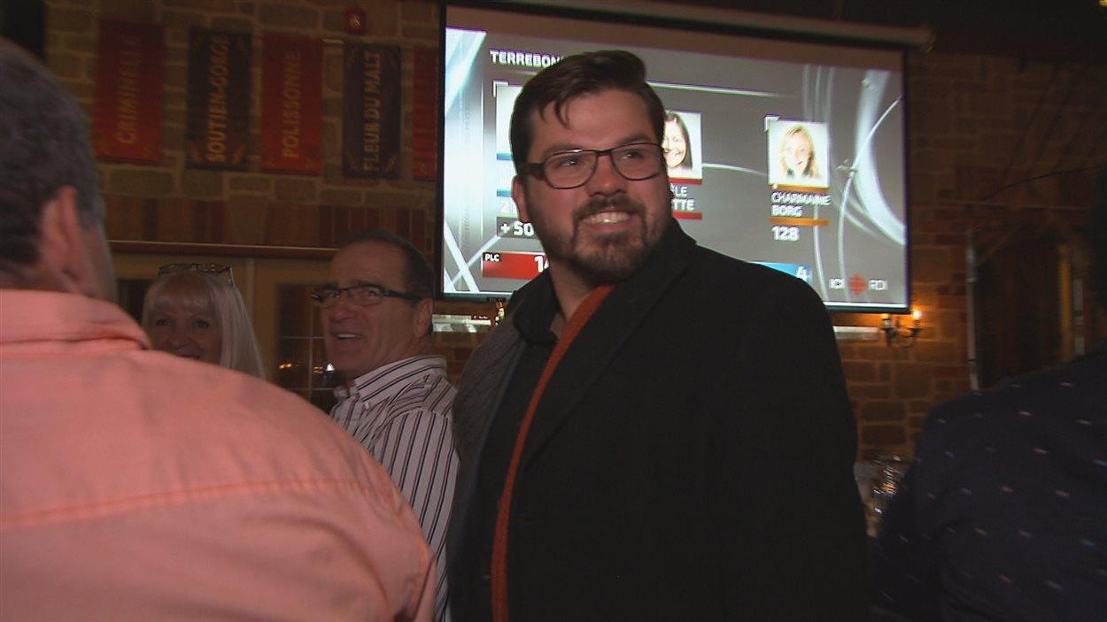 Dany Morin, candidat défait du NPD dans Chicoutimi-Le Fjord