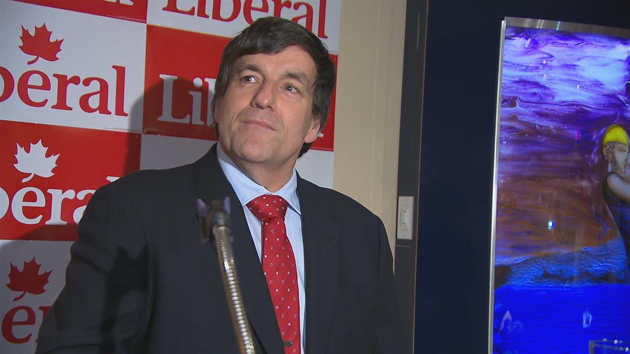 Le nouveau député de Chicoutimi-Le Fjord, Denis Lemieux