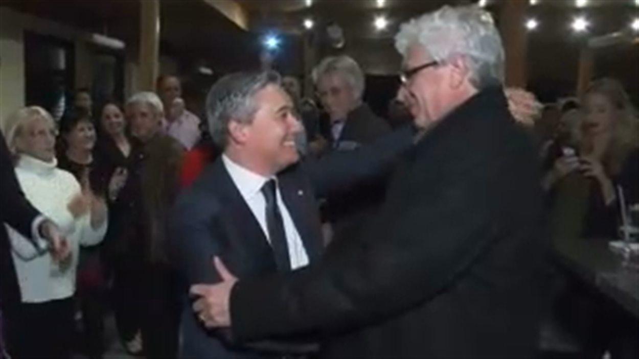 François-Philippe Champagne chaudement acceuilli par ses partisans