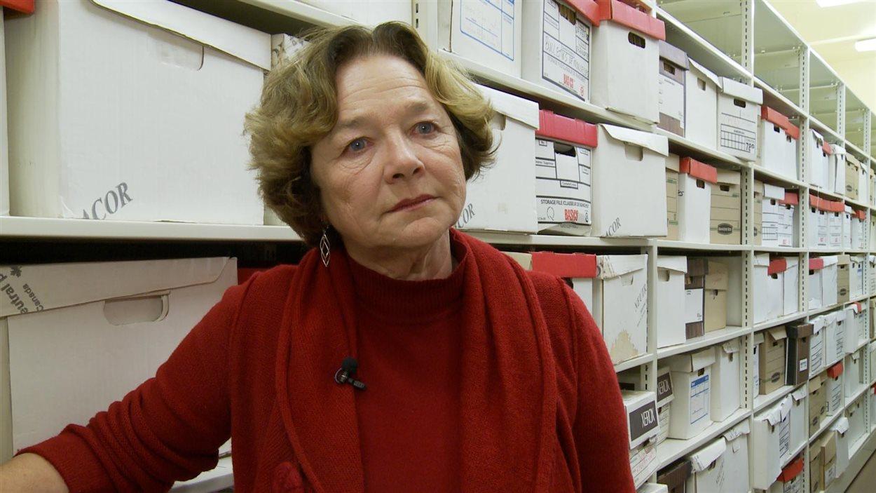 Danielle Coulombe, historienne et archiviste à l'Université de Hearst