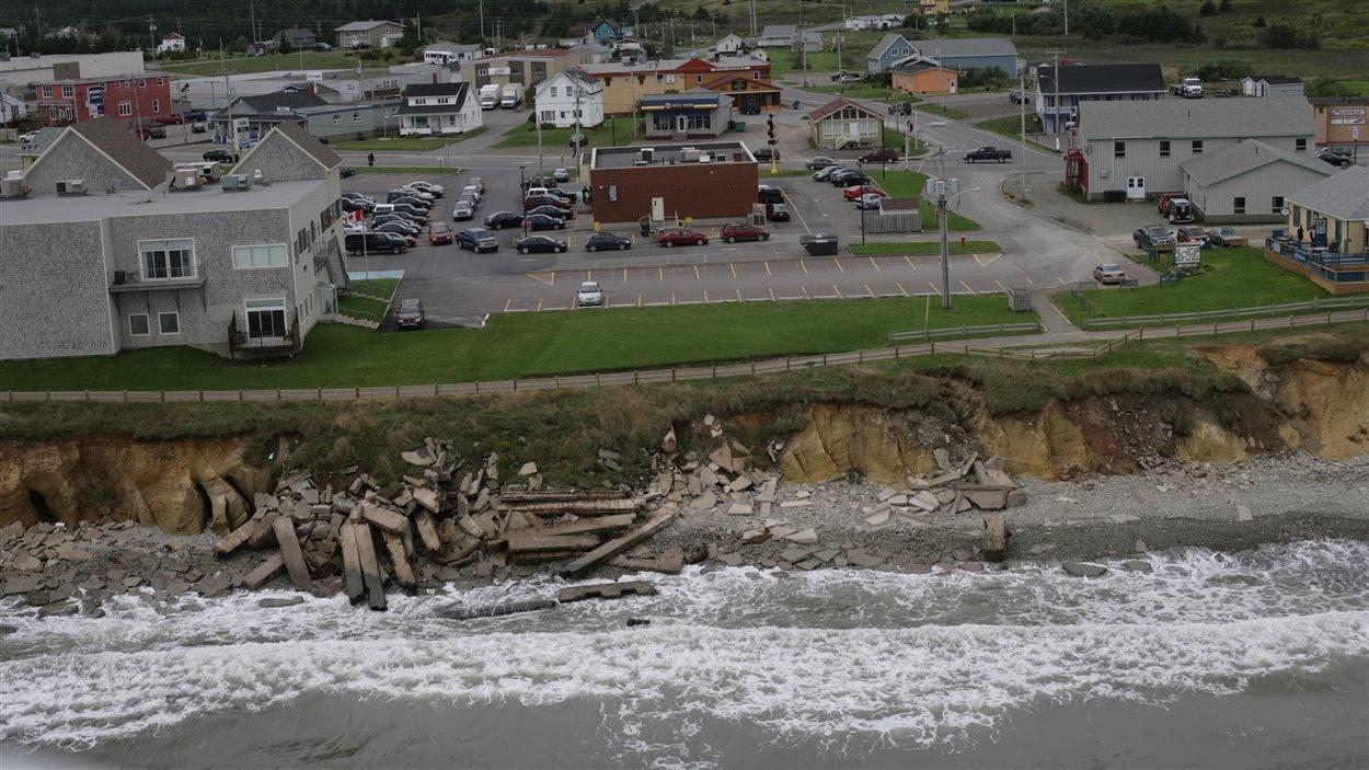 L'érosion fait des dommages aux Îles-de-la-Madeleine