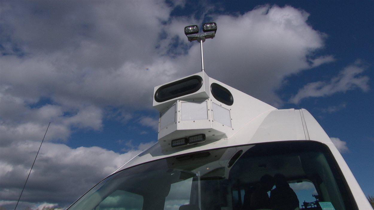 Un radar photo mobile à Gatineau