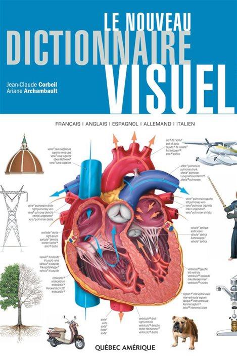 Détail de la couverture du Nouveau dictionnaire visuel