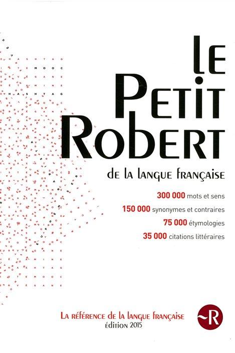 La couverture du Petit Robert, édition 2015