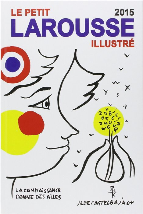 La couverture du Petit Larousse illustré, édition 2015