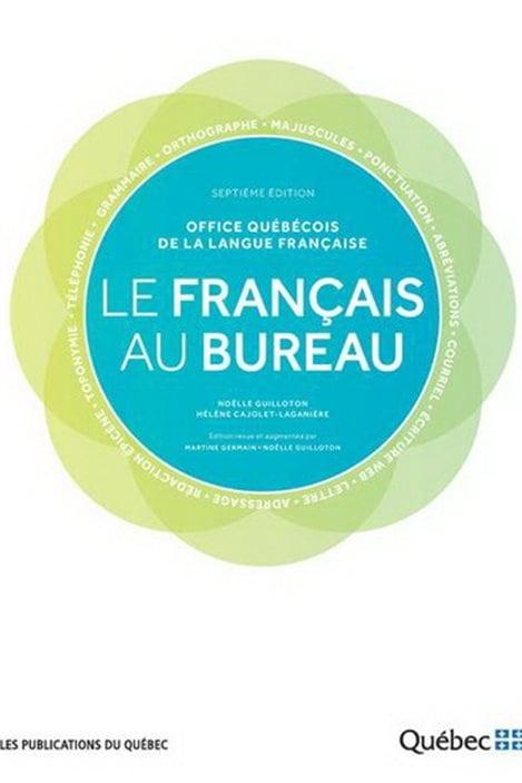 Détail de la couverture du Français au bureau