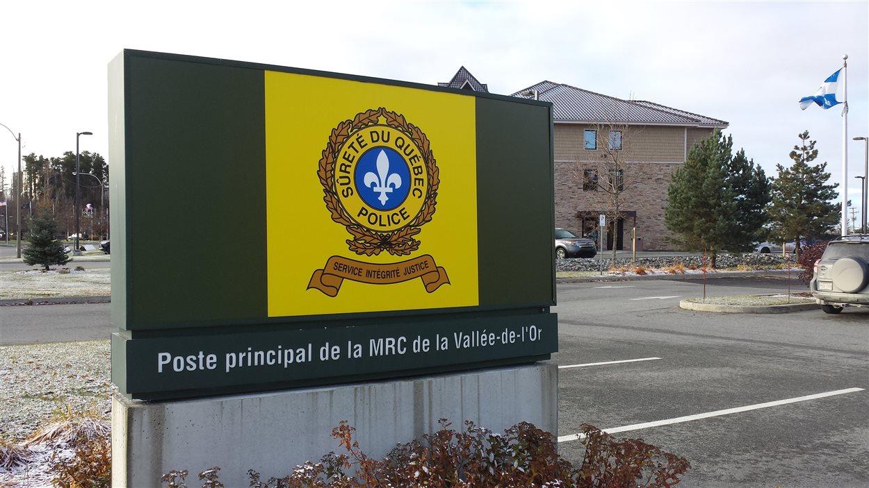 Poste principale de la Sûreté du Québec à Val-d'Or