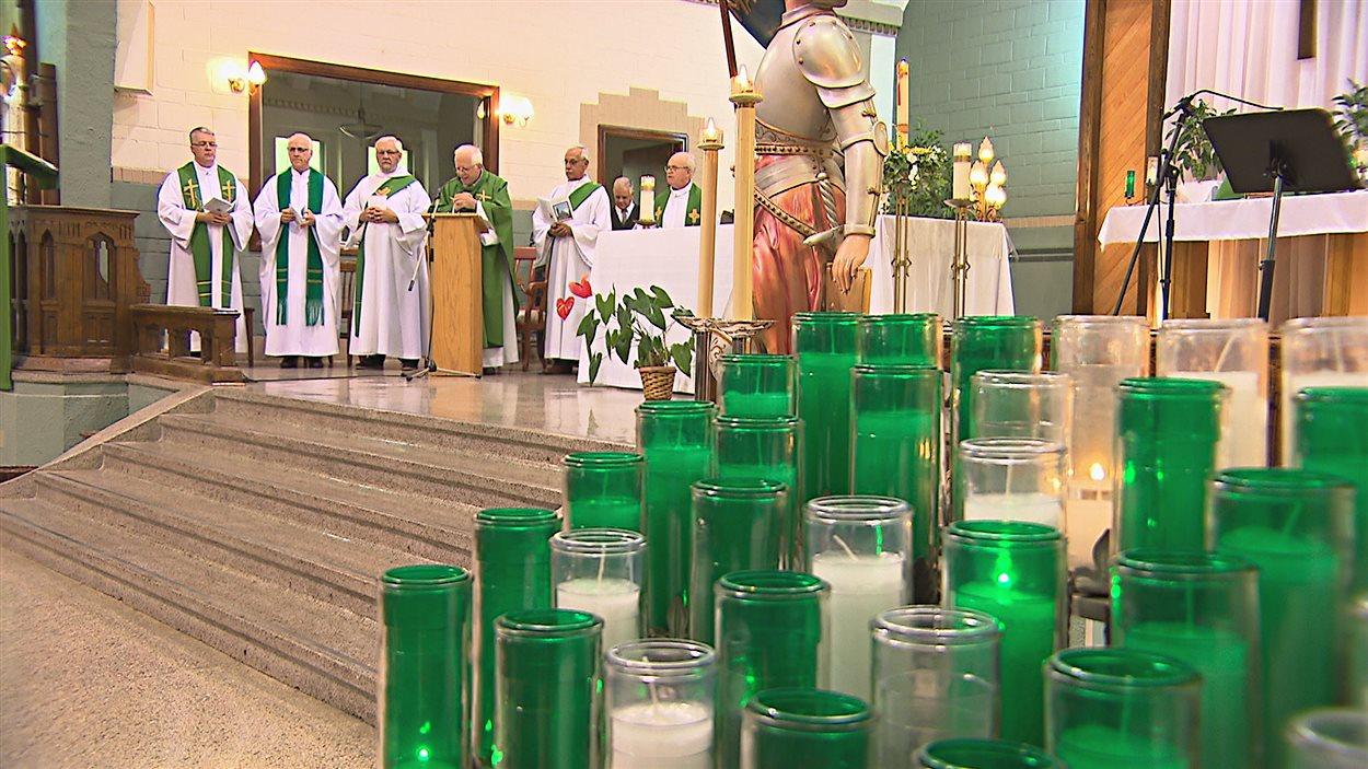 Dernière messe à l'église Sainte-Jeanne-d'Arc de Sherbrooke