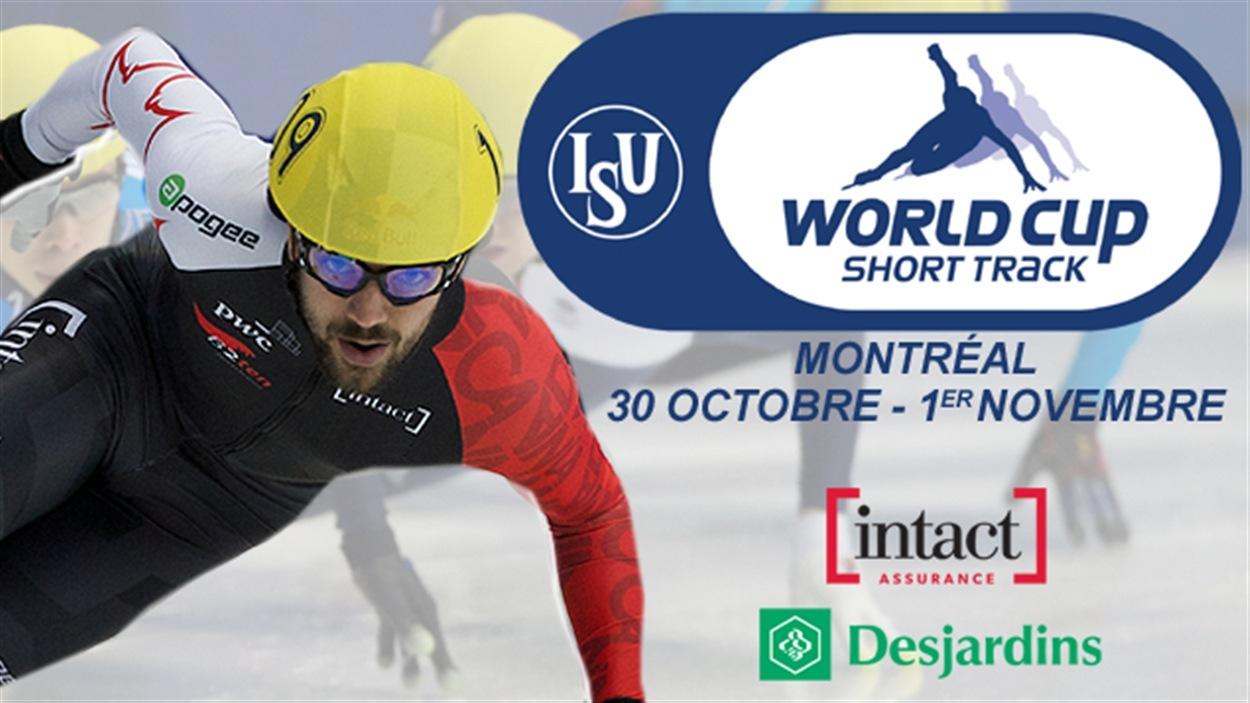 Coupe du monde de patinage de vitesse courte piste à Montréal