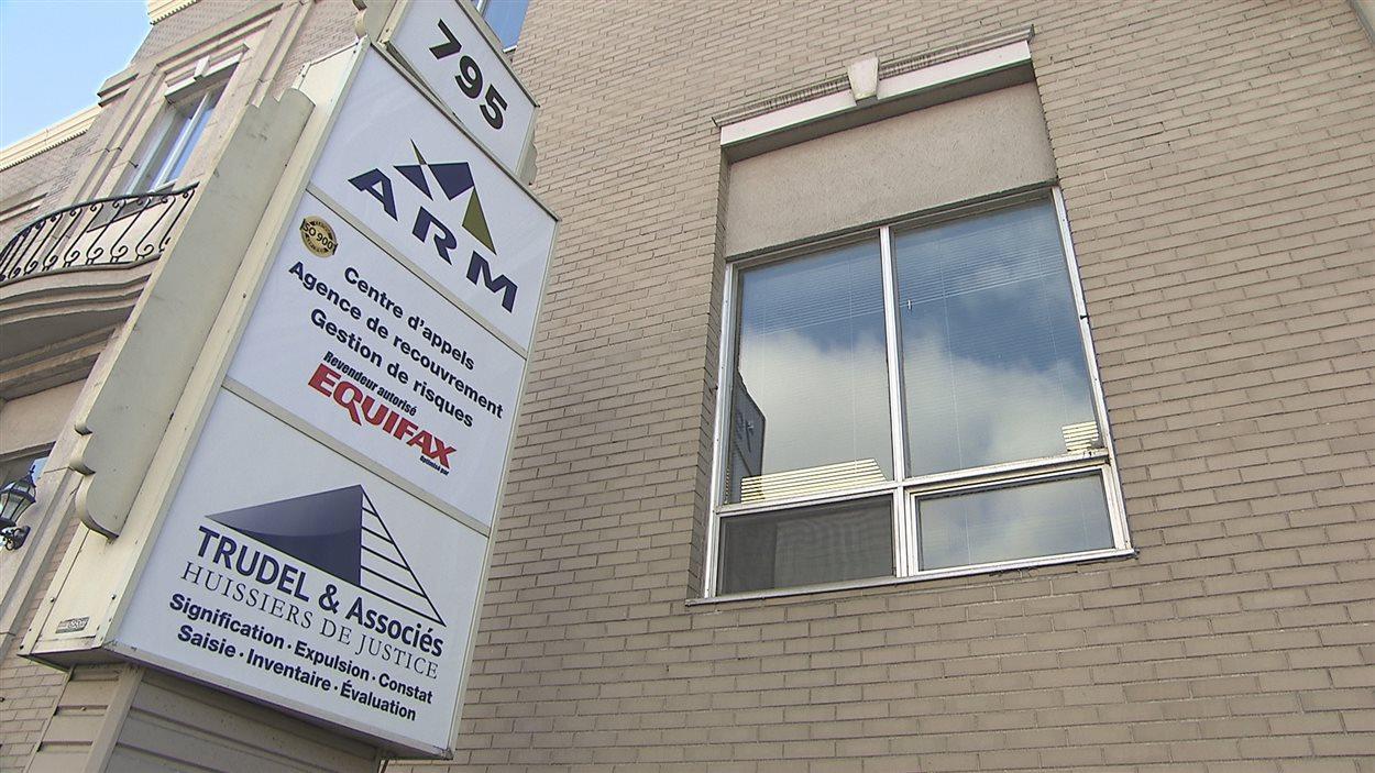 Le centre d'opérations d'ARM à Shawinigan est situé sur la 5e rue, au centre-ville