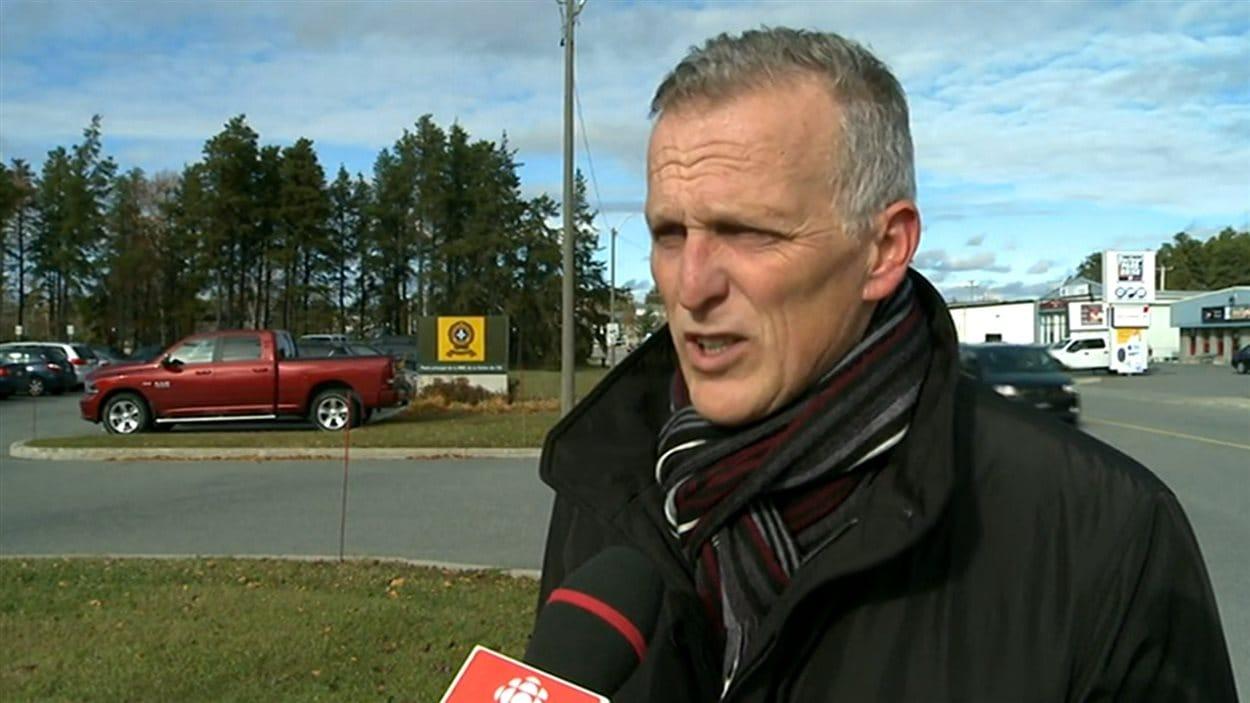 Pierre Veilleux, président de l'Association des policiers provinciaux du Québec