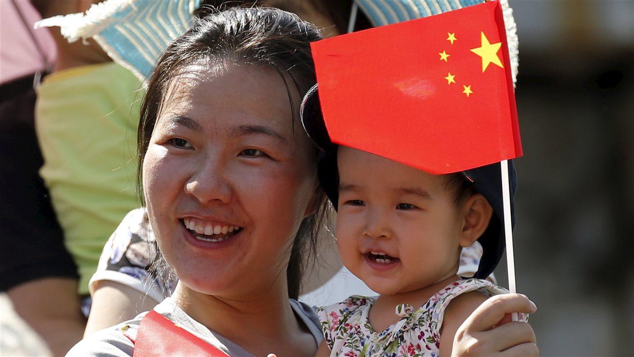 Une mère chinoise avec sa fille.