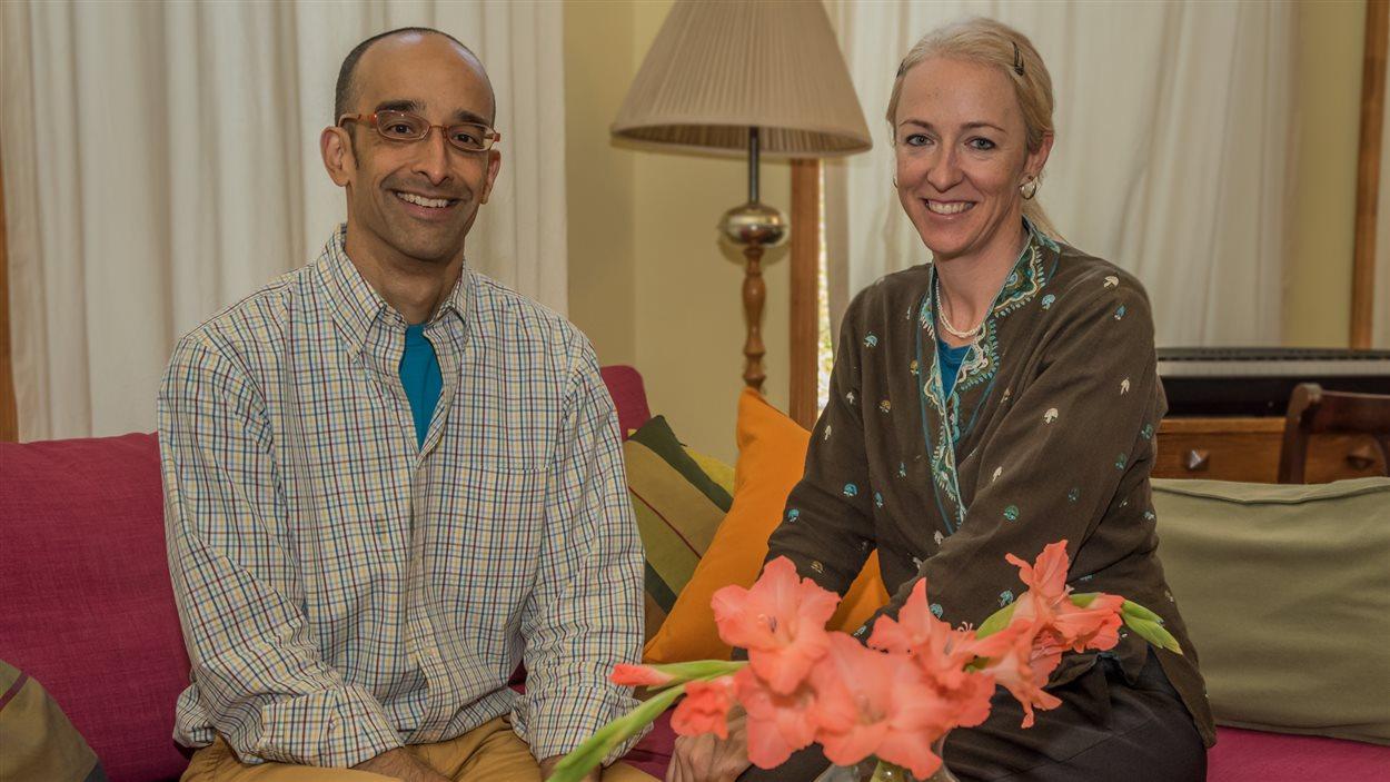 Jay Sihna et Chantal Plamondon sont les fondateurs de l'entreprise Life Without Plastic.