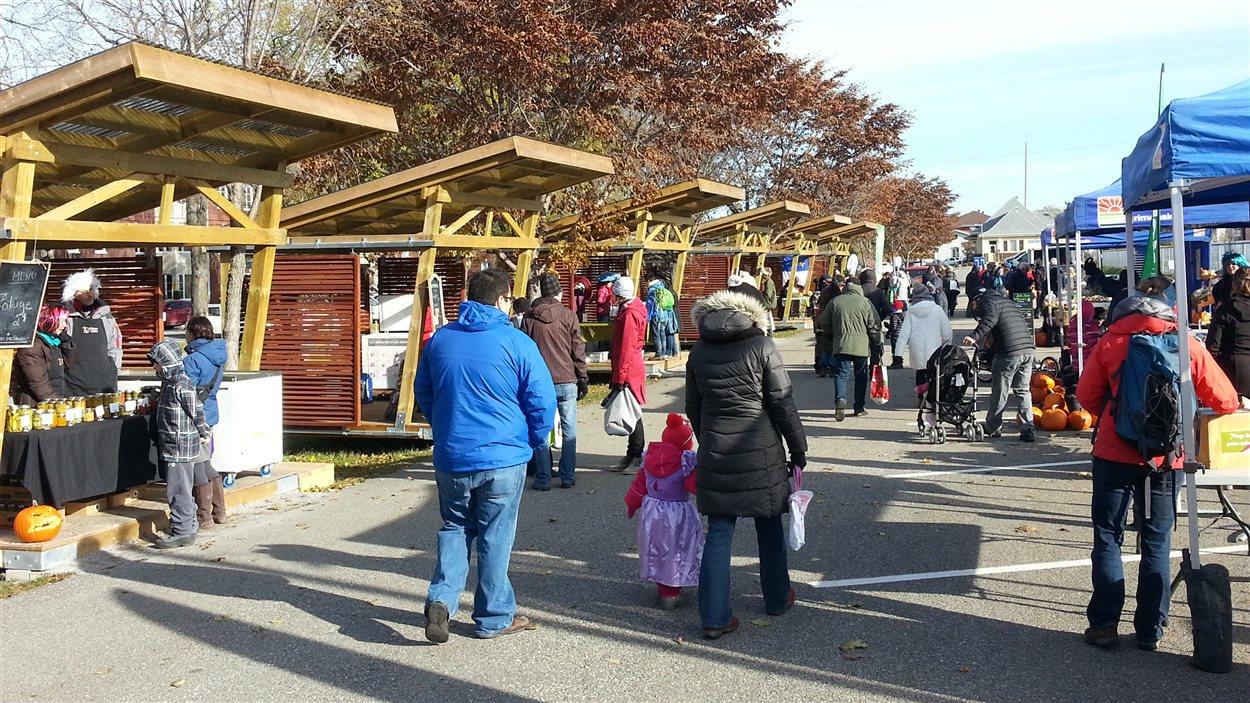 Le dernier marché public de l'année à Rimouski.