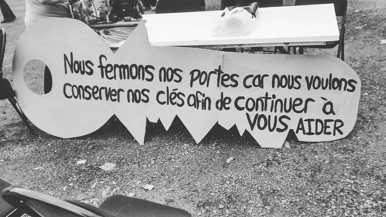 Les organismes communautaires du Centre-du-Québec sont aussi en grève.