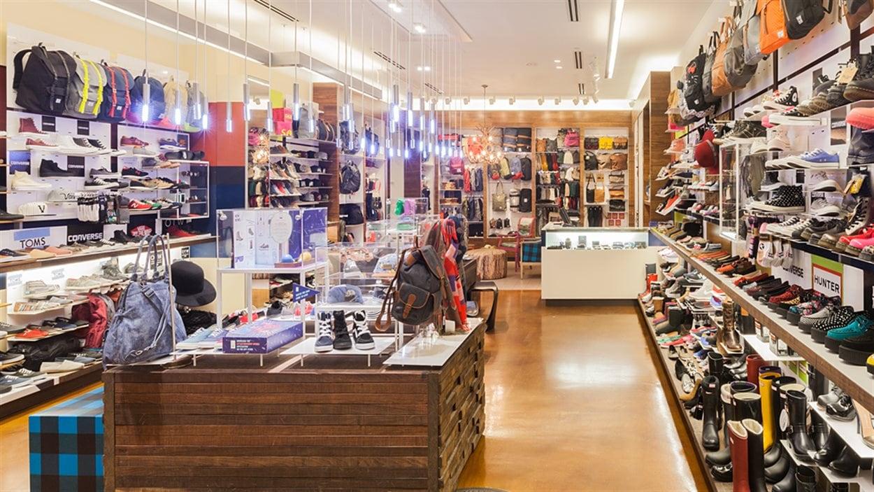 Le groupe Aldo vend ses 37 magasins de chaussures et d'accessoires Espace Little Burgundy.