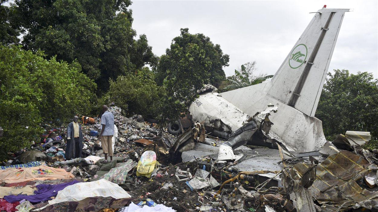 Écrasement d'avion au Soudan du Sud