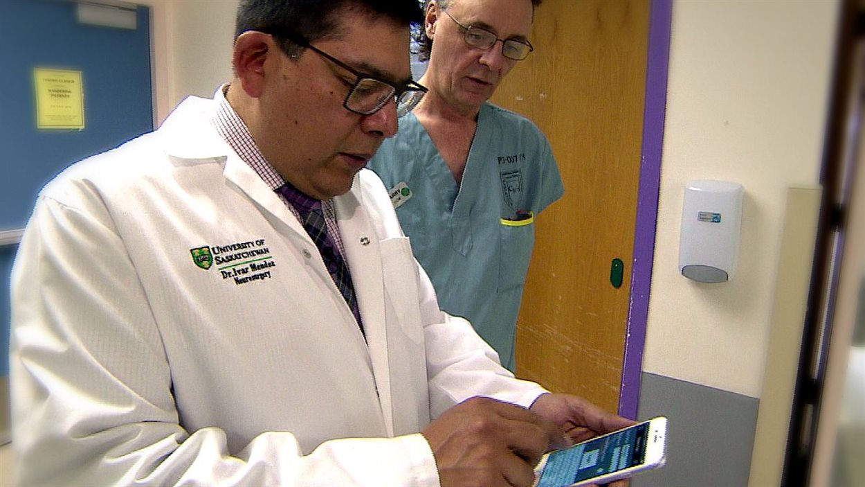 Le Dr Ivar Mendez, chef du Département de chirurgie de l'Université de la Saskatchewan