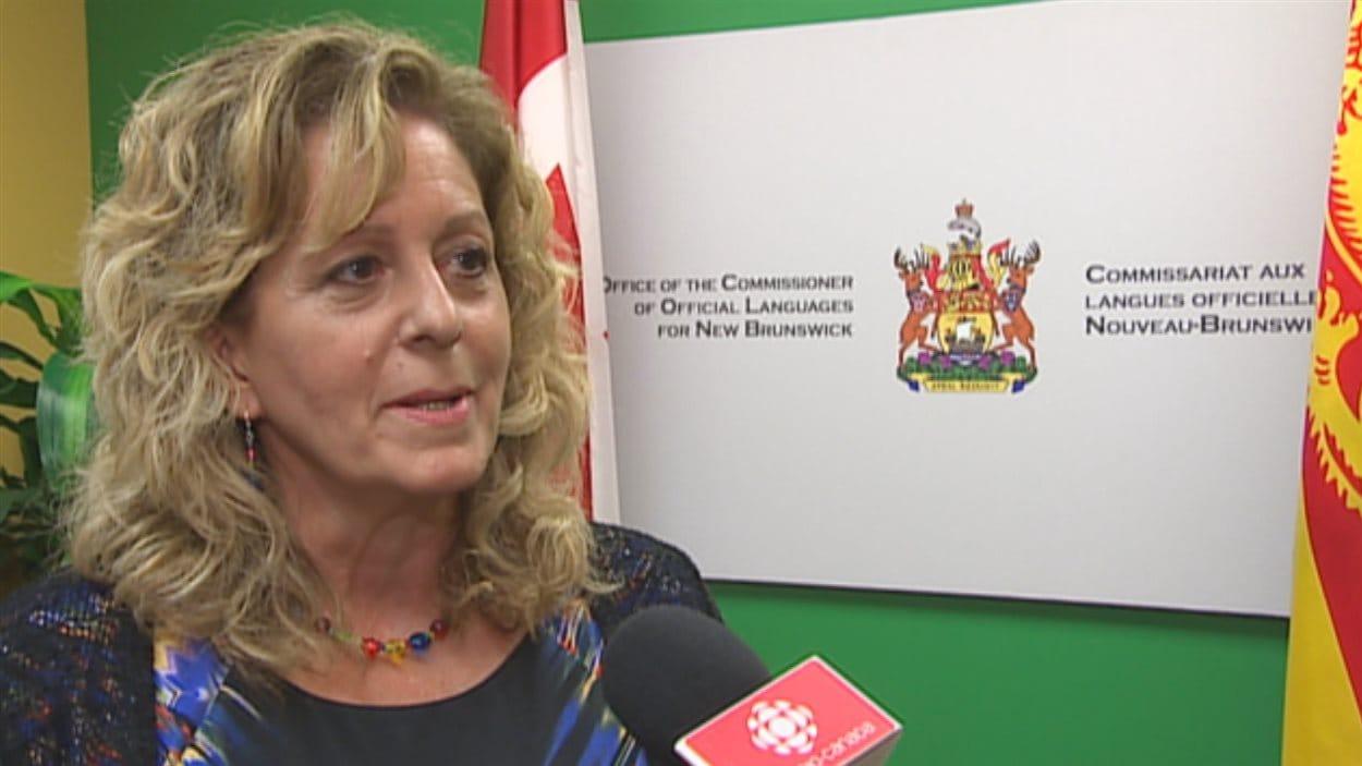 La commissaire aux langues officielles du Nouveau Brunswick, Katherine d'Entremont.