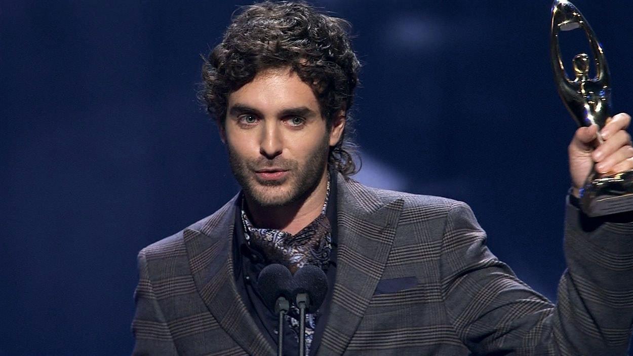Alex Nevsky au Gala de l'ADISQ 2014