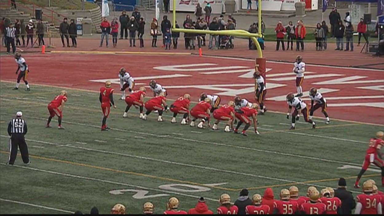 Le Rouge et Or a vaincu les Stigners de l'Université Concordia samedi au Stade Telus de l'Université Laval
