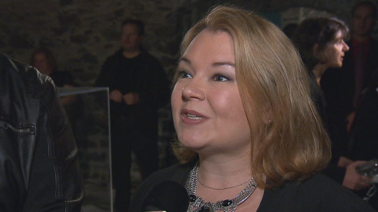 L'historienne experte Catherine Ferland a travaillé à authentifier la pièce.